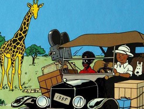 কঙ্গোয় টিনটিনকঙ্গোয় টিনটিন। ১৯৩১ সালে প্রকাশিত টিনটিনের দ্বিতীয় অভিযান। প্রথমে বই আকারে প্রকাশিত হলেও ১৯৪৬ সালে আবার নতুন করে হার্জ টিনটিনের কঙ্গো অভিযানকে তৈরি করেন। রঙিন হয় টিনটিন। মধ্য আফ্রিকার দেশ কঙ্গোর বন্যপ্রাণী, নতুন বন্ধু, সেখানকার শ্বেতাঙ্গ আর কৃষ্ণাজ্ঞ মানুষদের পারস্পরিক সম্পর্ক উঠে এসেছে এই গল্পে। তবে কোনও কোনও সমালোচক টিনটিনের কঙ্গো অভিযানের বিরুদ্ধে বর্ণবিদ্বেষের অভিযোগ এনেছিলেন। তার সঙ্গেই যে বহুল পরিমাণে বন্যপ্রাণ হত্যার উল্লেখ আছে এই গল্পে তাও প্রবল সমালোচনার সম্মুখীন হয়েছিল। তবে এই কোন কিছুই এই অভিযানের জনপ্রিয়তায় ভাঁটা পড়তে দেয়নি।