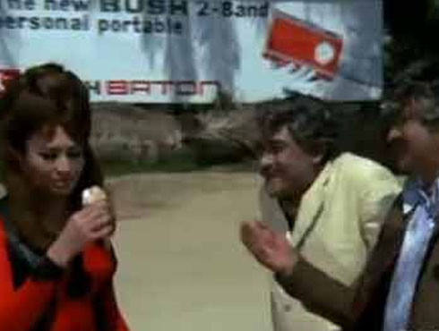 ভিক্টোরিয়া নং ২০৩, ১৯৭২একই ছবিতে একসঙ্গে ভিলেন ও কমিক রোল। একমাত্র প্রাণই দেখিয়েছিলেন।