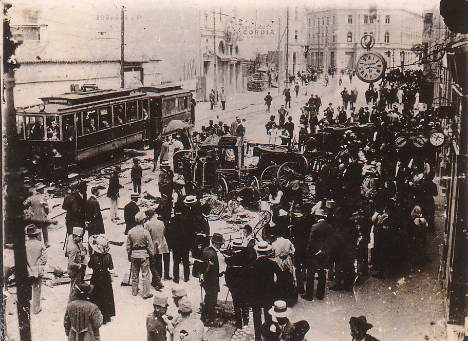 1914-06-29 - Aftermath of attacks against Serbs in Sarajevo (Wiki)