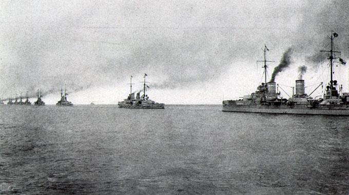 Battleships of the Hochseeflotte, 1917