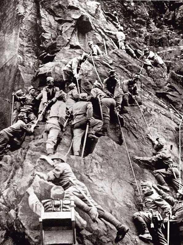 Austro-Hungarian troops, Tyrol. (Wiki)