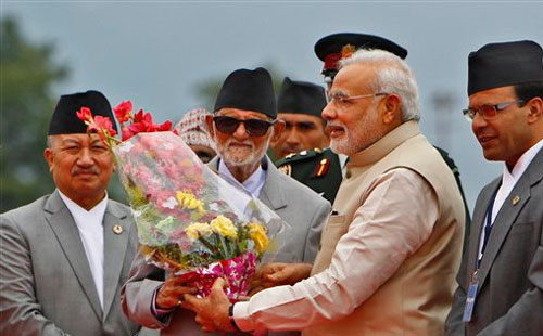 Essay on the relation between India and Nepal