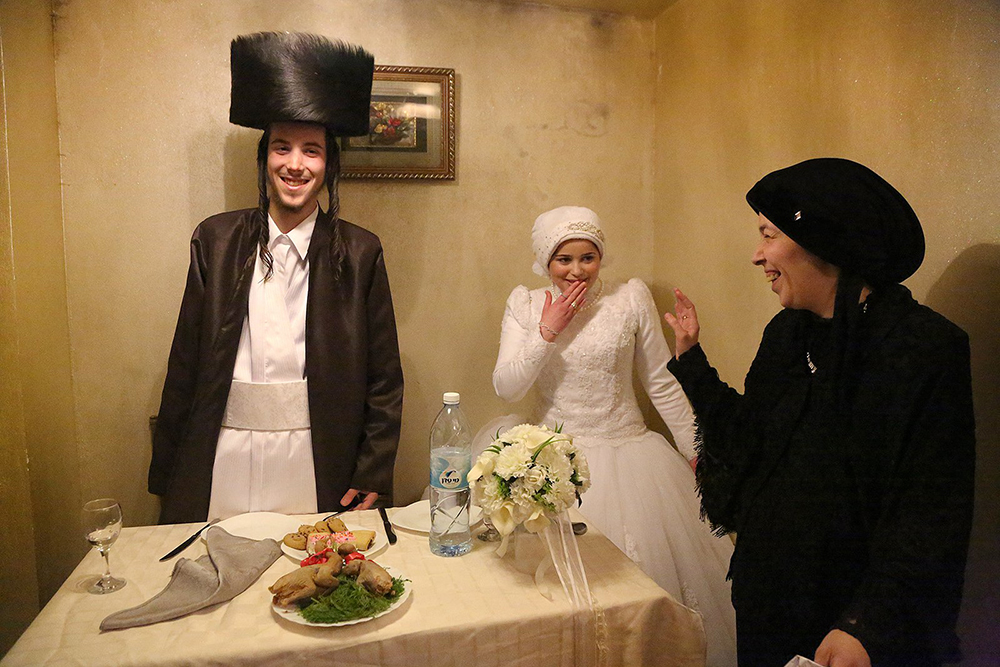 Newly married, Aaron and Rivkeh, Jerusalem, (Photo and caption by Agnieszka Traczewska / National Geographic Traveler Photo Contest)