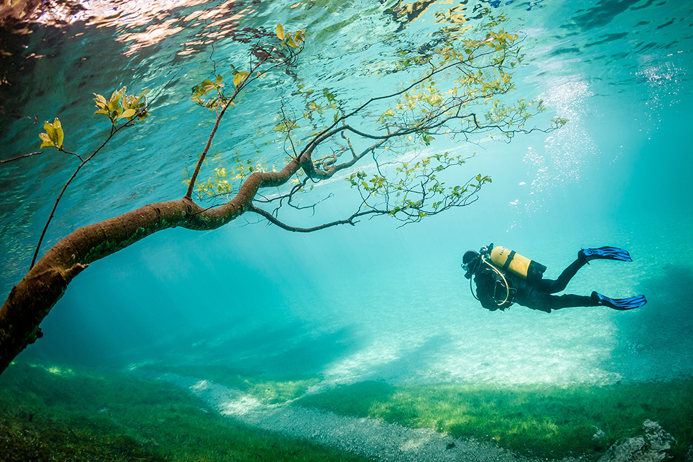 Green Lake , Tragöss Austria (Photo and caption by Marc Henauer / National Geographic Traveler Photo Contest)