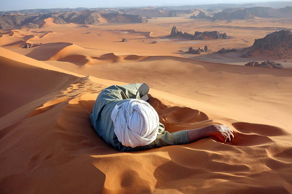 Sahara (Photo and caption by Evan Cole / National Geographic Traveler Photo Contest)