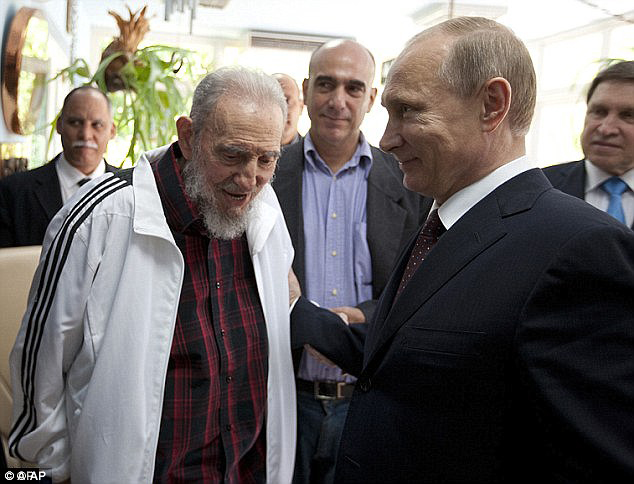Castro made his first public appearance in months when he spoke with Russian President Vladimir Putin
