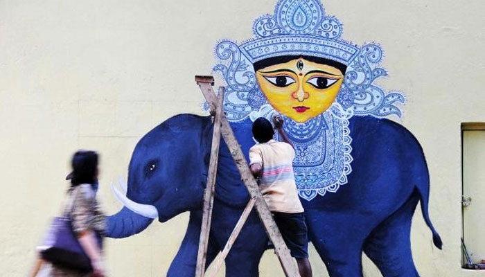 কলকাতা স্ট্রিট আর্ট ফেস্টিভ্যাল: শহরকে নতুন করে সাজানোর উদ্যোগ