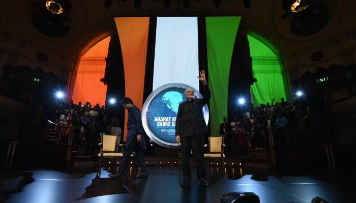 কাঠুয়া নিয়ে রাজনীতি হচ্ছে, লন্ডনে ভারতীয়দের সঙ্গে আলাপচারিতায় বললেন মোদী