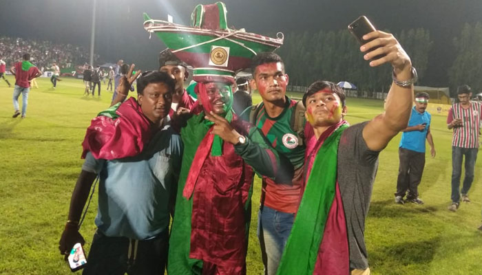 Mohunbagan wins calcutta football league 1