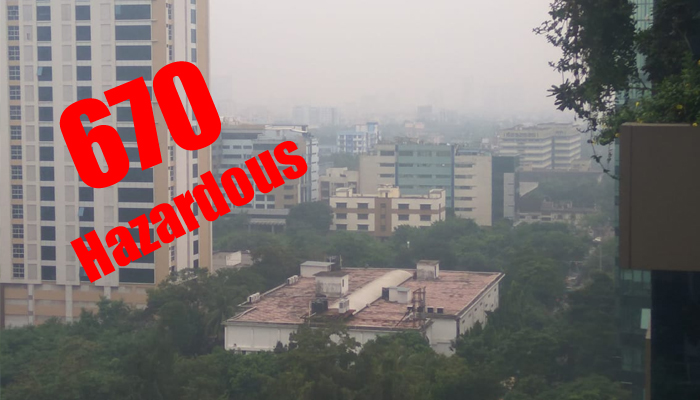 কালীপুজোর রাতে বায়ুদূষণের রাজধানীতে পরিণত হল কলকাতা