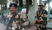 গুজরাট নির্বাচনে নিরাপত্তার দায়িত্বে বাংলার বিএসএফ ট্রুপ