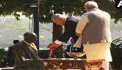 সবরমতী আশ্রমে গান্ধীজিকে শ্রদ্ধা, অভ্যর্থনায় ভাসলেন নেতানিয়াহু