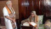 'নিজেদের খাদ্য ভাগ করে ওদের খাওয়াবো', রোহিঙ্গা প্রশ্নে মানবিক হাসিনা
