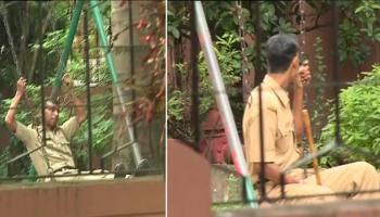 সল্টলেকের ৯টি ও আসানসোলের ২টি বুথে চলছে পুনর্নির্বাচন, ভোটের হার অত্যন্ত কম, হাল্কা মেজাজে দুলছে পুলিস