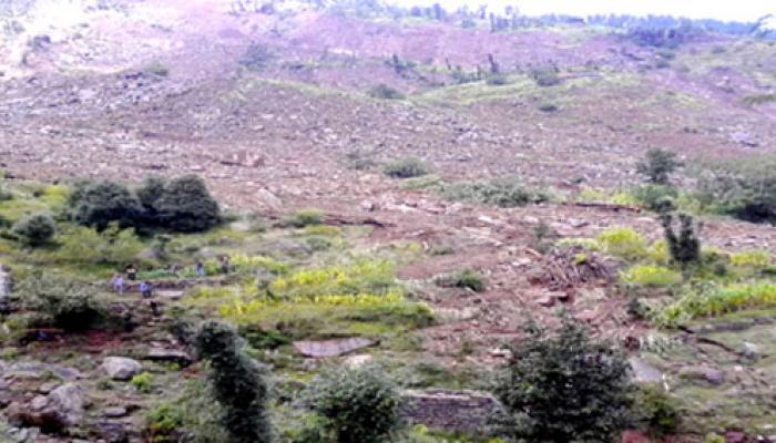 জম্মু-কাশ্মীরের মানচিত্রে সদ্দল গ্রাম এখন ইতিহাস