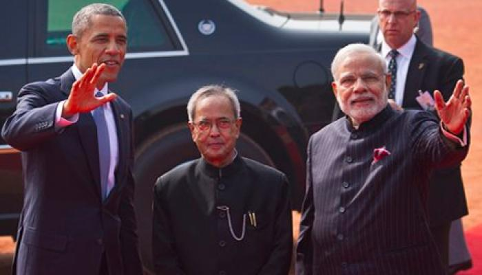 LIVE : ওবামা-মোদী যৌথ সাংবাদিক সম্মেলন