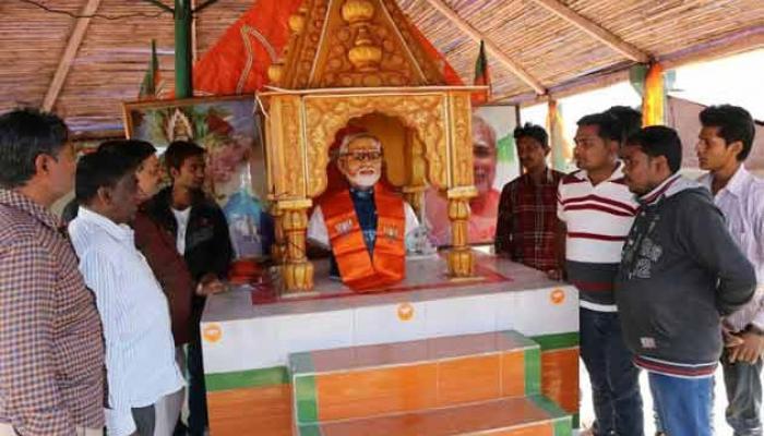 প্রধানমন্ত্রীর আপত্তিতে রাজকোটে বন্ধ হল মোদী মন্দিরের উদ্বোধন