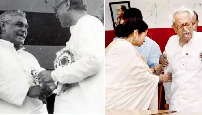 মমতা ইস্যুতে বিস্ফোরক অশোক ঘোষ বললেন, ''জ্যোতি বসুও বাজপেয়ীর হাত ধরেছিলেন''