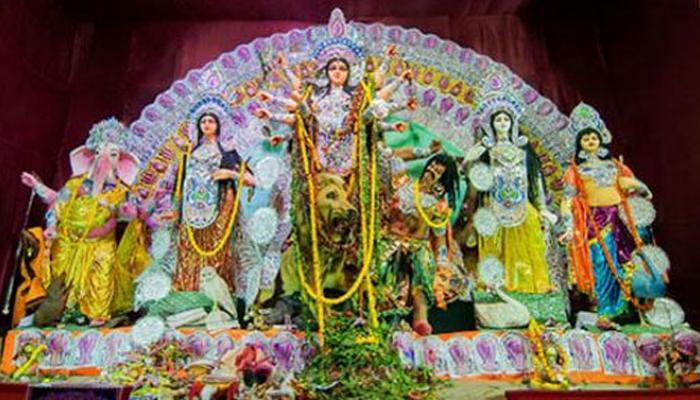 আজ মহাসপ্তমী, নবপত্রিকা স্নানের মধ্যে দিয়ে শুরু পুজোর উপাচার