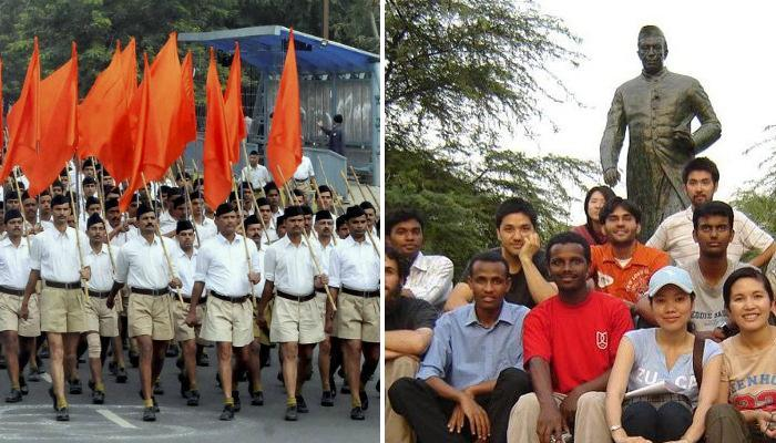 আরএসএসের নিশানায় JNU, পাঞ্চজন্যর দাবি, 'JNU দেশ বিরোধীদের আড্ডা'