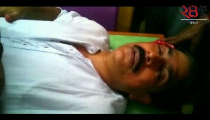 আক্রান্ত রামনগরের সিপিএম প্রার্থী তাপস সিনহা