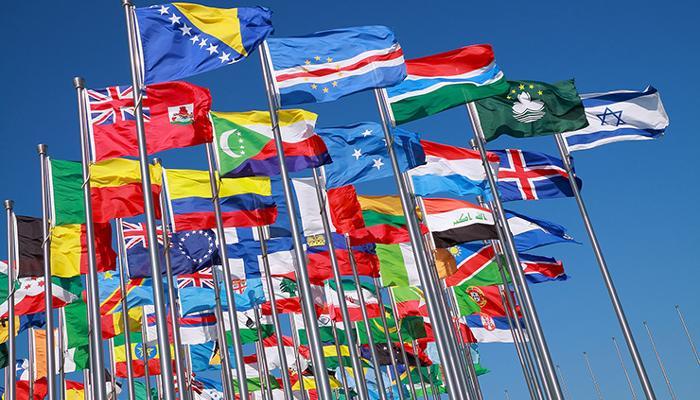 পৃথিবীর একমাত্র দেশের জাতীয় পতাকা যেখানে, তাদের ম্যাপ আঁকা থাকে!