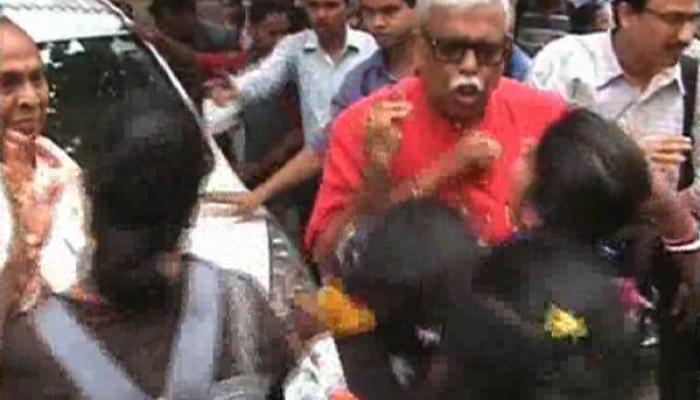 বিবেকানন্দ কলেজের অশান্তিতে জড়িত শাসকদলের ছাত্রসংগঠন