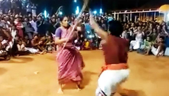 OMG! হাঁটুর বয়সী ব্যক্তিকে যেভাবে মার্শাল আর্ট শেখালেন ৭৬ বছরের মহিলা! (ভিডিও)