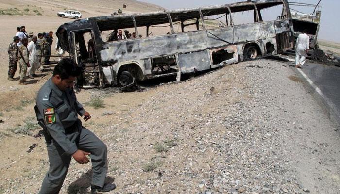 আফগানিস্তানে বাস-ট্যাঙ্কার সংঘর্ষে মৃত ৩৬