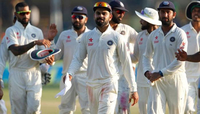 অশ্বিনের দাপটে নিউজিল্যান্ডের বিরুদ্ধে সিরিজের প্রথম টেস্ট জিতল ভারত