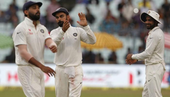 ১১২ রানের লিড ভারতের, ইডেনেই সিরিজ জয়ের হাতছানি ভারতের