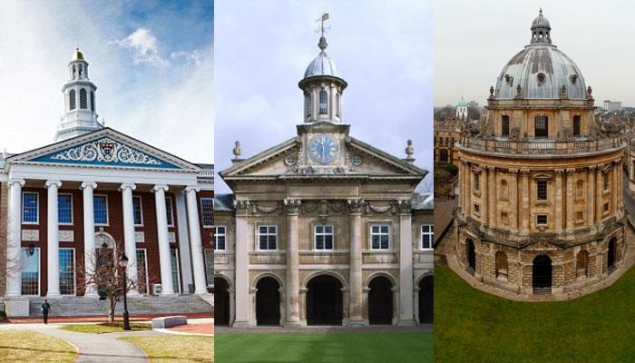 বিশ্বের সেরা ১০ বিশ্ববিদ্যালয় (২০১০৬-২০১৭)
