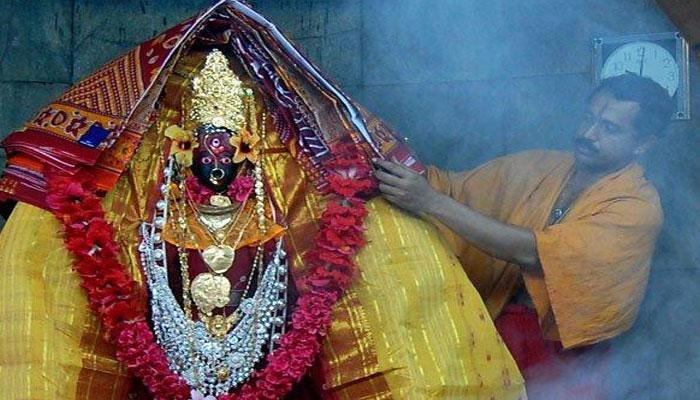 মহাসমারোহে পুজো হচ্ছে ত্রিপুরার ত্রিপুরেশ্বরী মন্দিরে