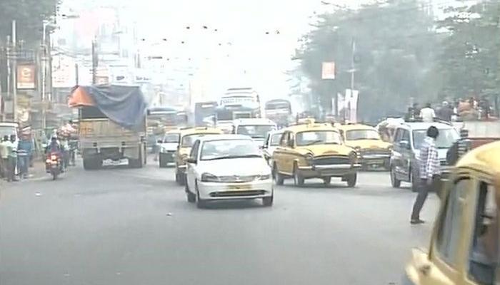 বামেদের ধর্মঘটে কর্মব্যস্ত কলকাতা, স্বাভাবিক জনজীবন