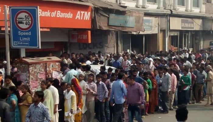 ATM-এ টাকা তুলতে গিয়ে লাইনে দাঁড়িয়ে মৃত্যু এক ব্যক্তির