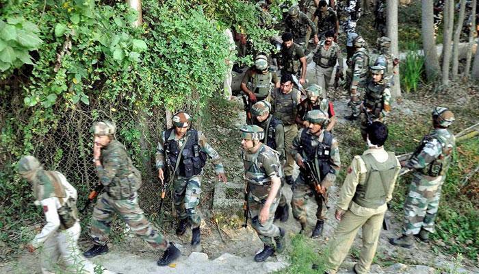 ২ জঙ্গির খোঁজে এখনও তল্লাসি চালাচ্ছে সেনাবাহিনী