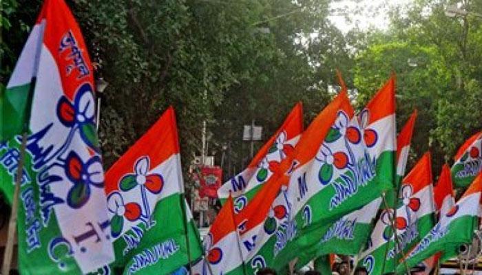 CBI অফিস, কলকাতায় রিজার্ভ ব্যাঙ্কের আঞ্চলিক দফতরের সামনে অবস্থান বিক্ষোভে তৃণমূল