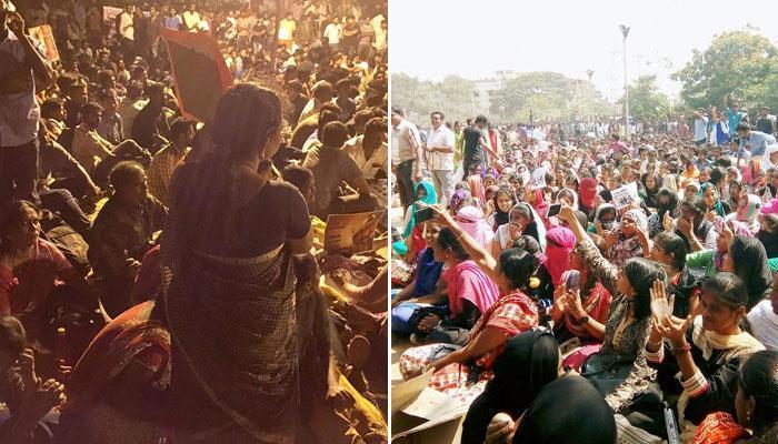 তামিলনাড়ুতে জাল্লিকাট্টু প্রতিবাদ