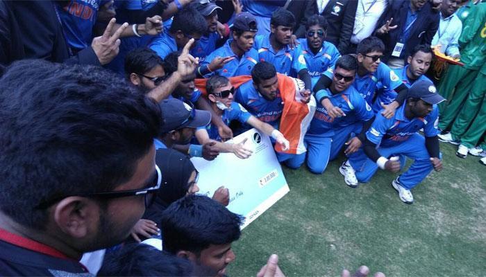 পাকিস্তানকে হারিয়ে দৃষ্টিহীনদের টি২০ বিশ্বকাপ জিতল ভারত