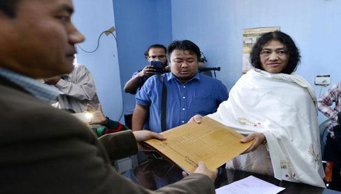 সরকারি নিরাপত্তা প্রত্যাখ্যান শর্মিলা চানুর