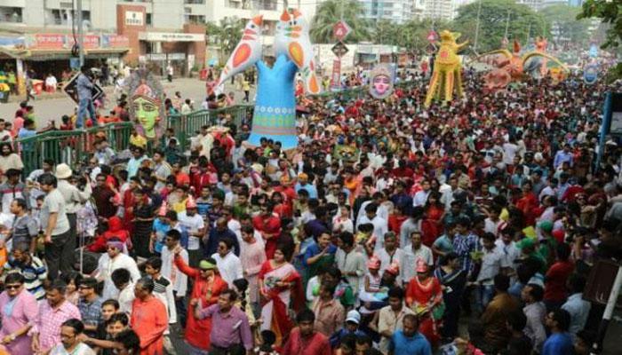 এই প্রথম কলকাতার রাস্তায় ১ লা বৈশাখ হবে মঙ্গল শোভাযাত্রা