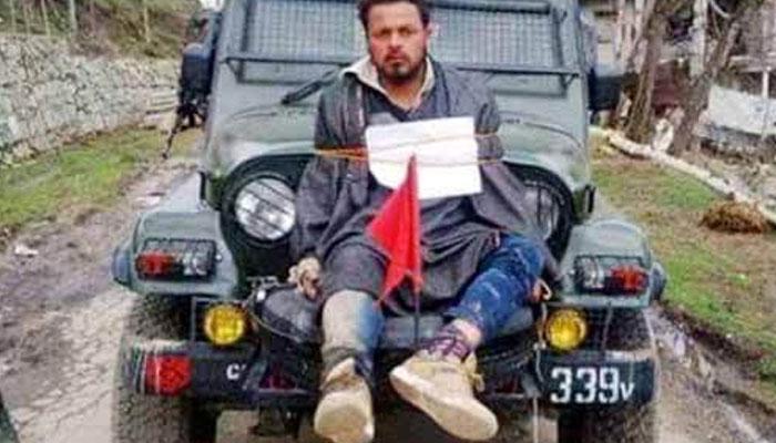 কাশ্মীরে মানব ঢাল নিয়ে সেনাপ্রধানের মন্তব্যে জোর বিতর্ক