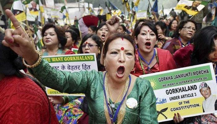'বাংলা ভাষাকে ঐচ্ছিকও করা যাবে না', পাহাড়ে বিক্ষোভ মোর্চার