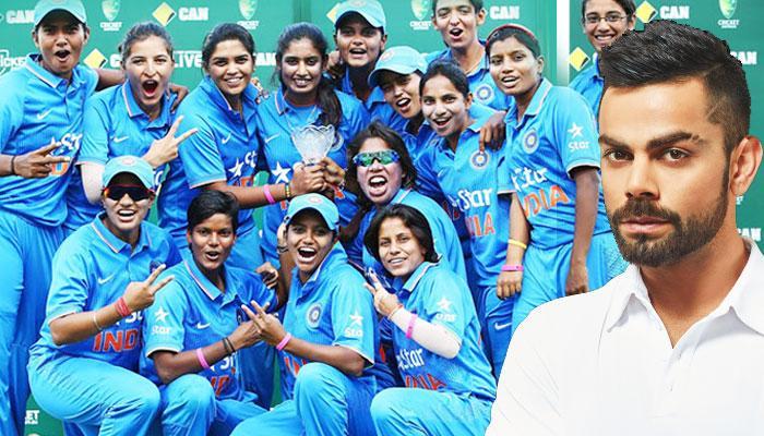 বিশ্বকাপে অংশগ্রহণকারী ভারতীয় মহিলা ক্রিকেট দলকে শুভেচ্ছা জানালেন বিরাট