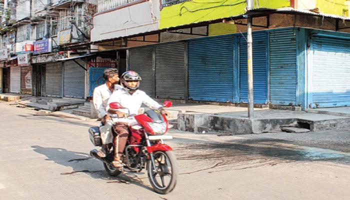 উত্তর দিনাজপুরে বিজেপির বনধ ঘিরে বিক্ষিপ্ত অশান্তি