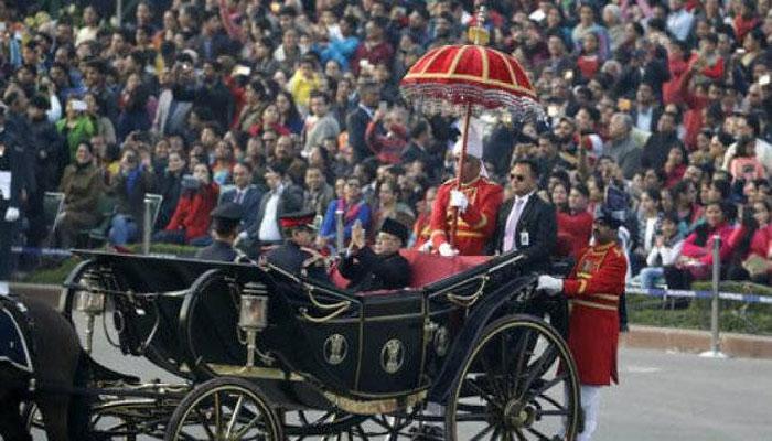 টসে জেতা ঐতিহাসিক বাহনে সওয়ার ভারতীয় রাষ্ট্রপতির পরম্পরা