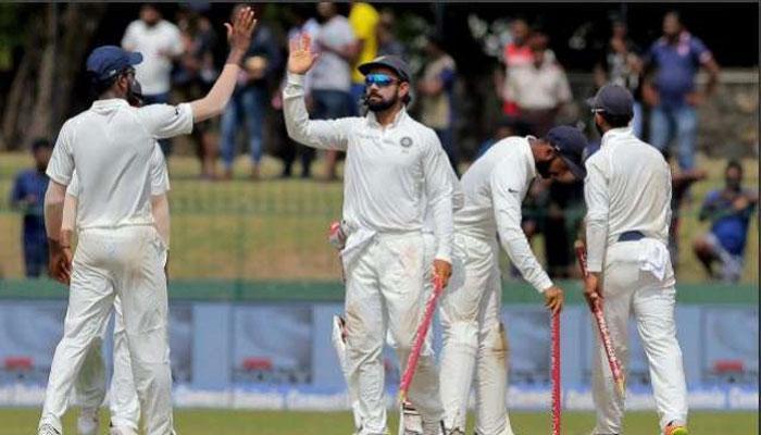 কলম্বো টেস্টে শ্রীলঙ্কাকে ইনিংস ও ৫৩ রানে হারিয়ে টেস্ট সিরিজ জিতে নিল ভারত