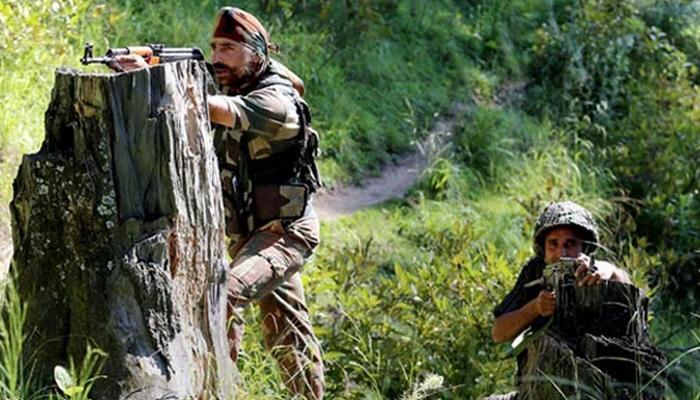 পাকিস্তানি জঙ্গিকে গুলিতে ঝাঁঝরা করে দিল সেনা বাহিনী