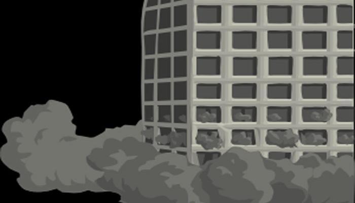 কলকাতায় ফের ভেঙে পড়ল বিপজ্জনক বাড়ি