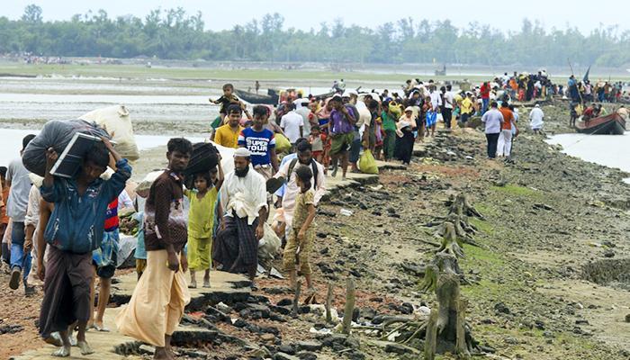 দেশে রেহিঙ্গাদের কোনও জায়গা নেই, অনড় মায়ানমার সেনা